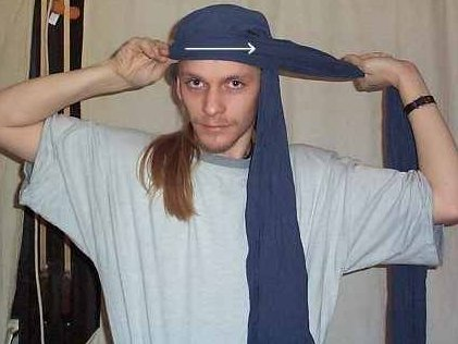 Kopfbedeckung männer arabische für Arabisches kopftuch